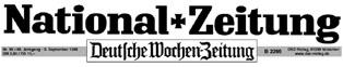 Logo National-Zeitung