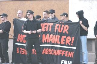 Manuel H. vor FNM-Transparent