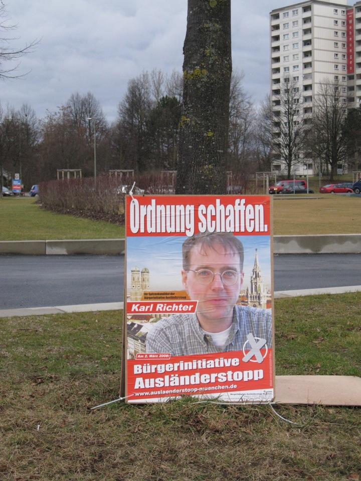 Karl Richter kandidiert für die BIA Foto: Robert Andreasch