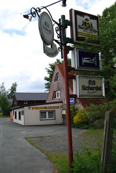 Die Neonazi-Immobilie in Oberprex Bild: Robert Andreasch