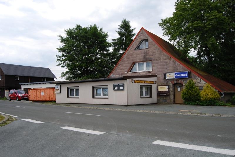 Von Neonazis gekauft: Restaurant Egerländer.  Foto: Robert  Andreasch
