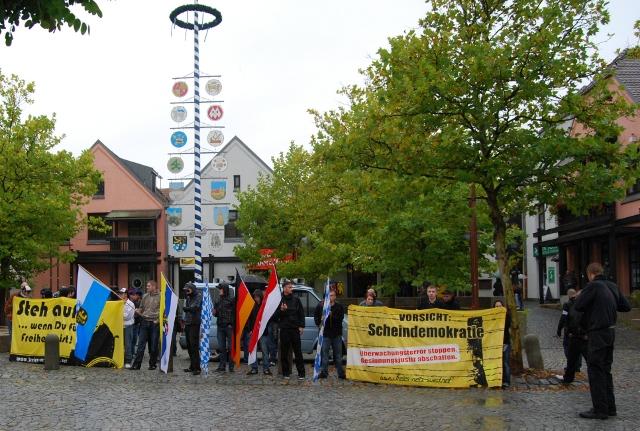 Kundgebung in Schwandorf.  Foto: Robert Andreasch
