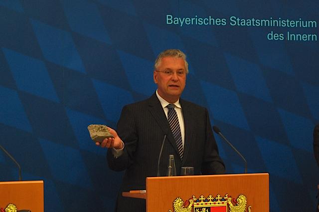 Innenminister Joachim Herrmann Foto: Robert Andreasch