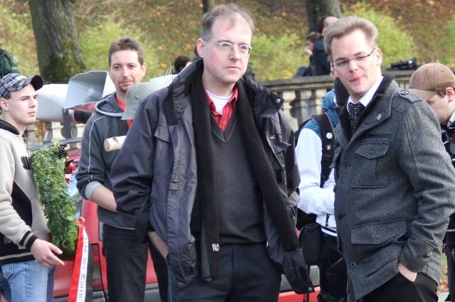 BIA-Stadtrat Karl Richter und Axel Reitz.  Foto: Zacharias O. Gross