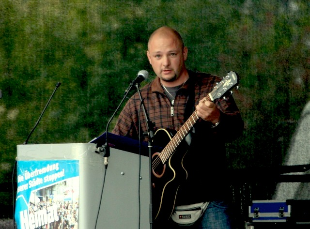 Jens Brucherseifer in Straubing 2009. Foto: Robert Andreasch