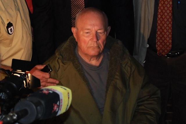 John Demjanjuk nach der Urteilsverkündung. Foto: Robert Andreasch