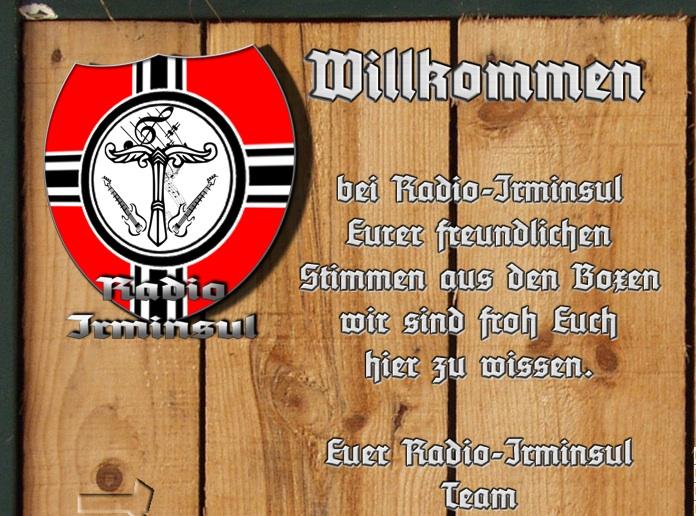 'Radio Irminsul'-Homepage. Screenshot: a.i.d.a.