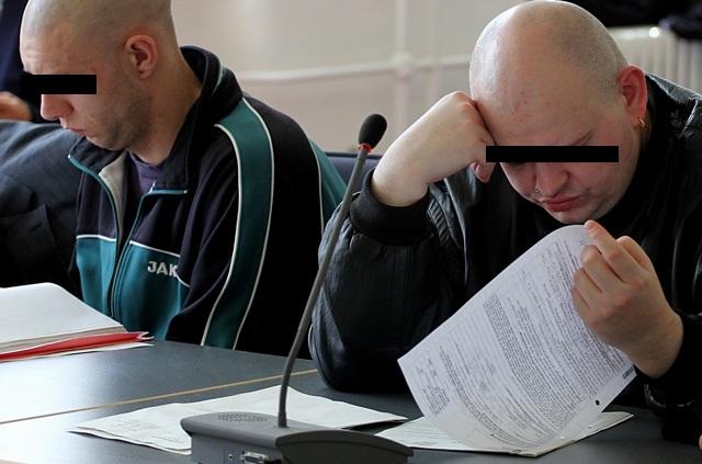 Die Angeklagten Manfred B. (l.) und Jens K. (r.) beim Regensburger Prozess.  Foto: Jan Nowak