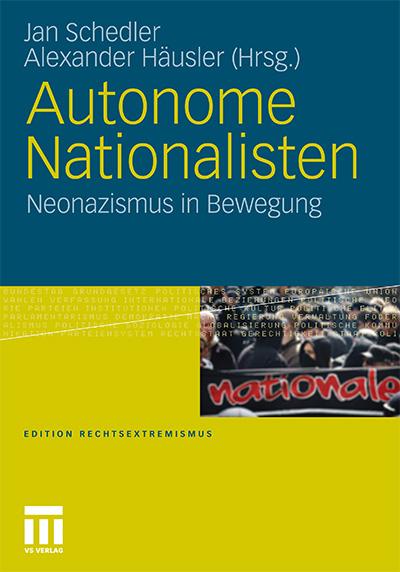 Buchcover 'Autonome Nationalisten'