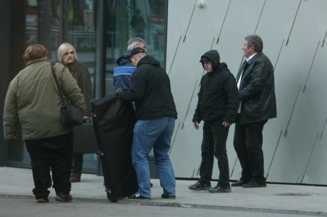 Neonazis am Bahnhof Giesing auf 'Erfolgskurs'.  Foto: A-Photo