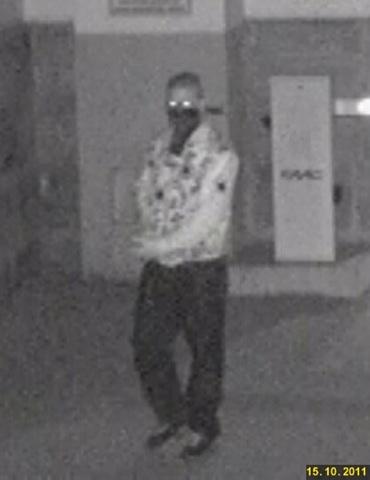 Der Unbekannte Angreifer. Fahndungsfoto der Kriminalpolizei Bamberg.