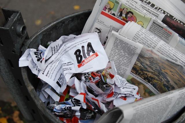 Neonazi-Propaganda 'im Bewußtsein der Öffentlichkeit verankert' (O-Ton BIA). Foto: Robert Andreasch