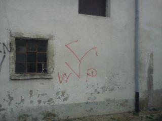 Neonazistische Sprühereien in Weissenburg. Foto: a.i.d.a.