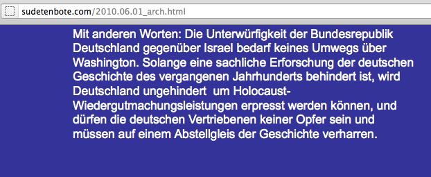 Revisionistische Propaganda auf der Homepage des IWWKs.  Screenshot: a.i.d.a.