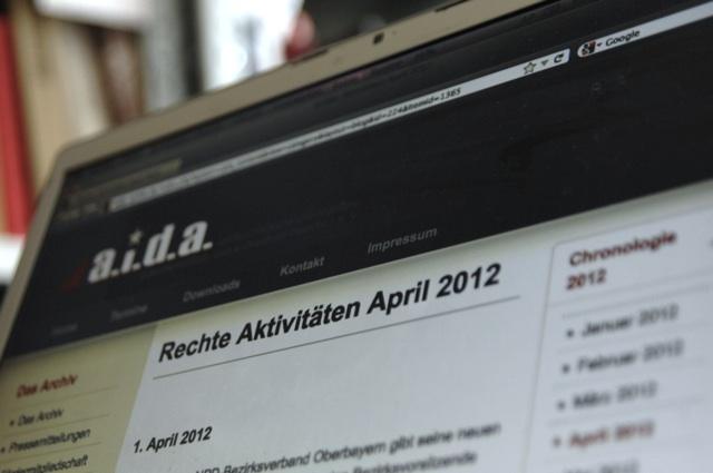 Das a.i.d.a.-Internetangebot auf www.aida-archiv.de. Foto: a.i.d.a. e. V.