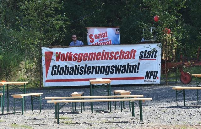 Dietmar Döring, noch ohne Publikum.  Foto: Timo Mueller
