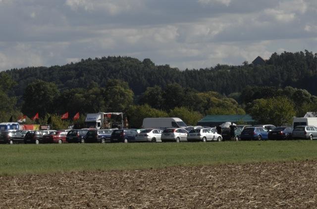 Das Gelände des neonazistischen 'Frankentags'. Foto: Robert Andreasch