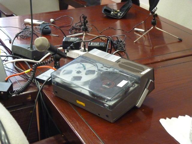 Tonband im NSU-Untersuchungsausschuss. Foto: a.i.d.a.