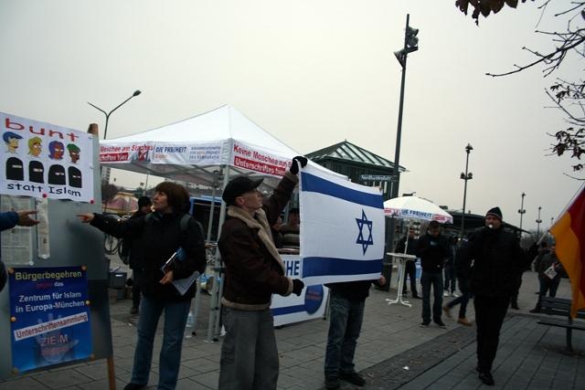 DF-Kundgebung im Hasenbergl. Foto: Tim Karlson