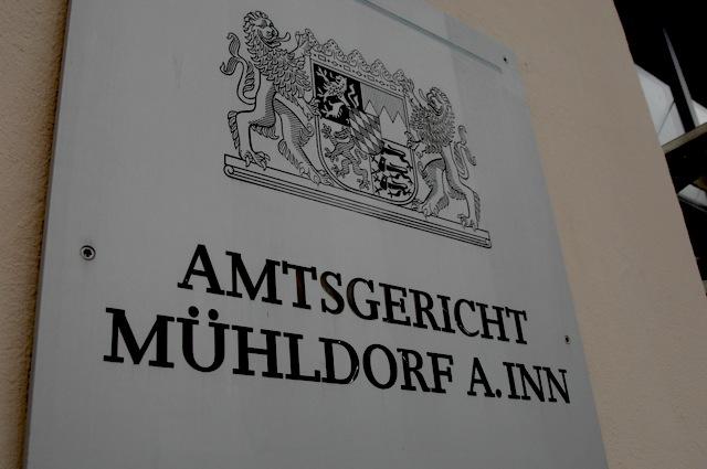 Das Amtsgericht im oberbayerischen Mühldorf. Foto: Robert Andreasch