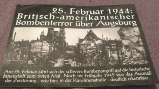 In Pappenheim verteilter neonazistischer Flyer (Vorderseite). Foto: wug-gegen-rechts.de
