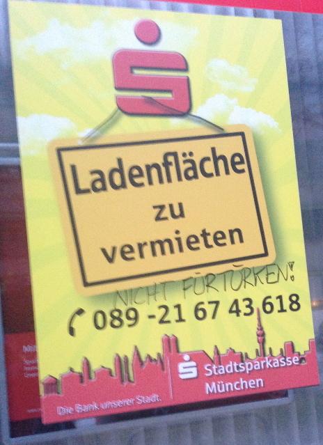 Rassistische Schmierereien in der Trappentreustraße, Teil 2.  Foto: a.i.d.a.