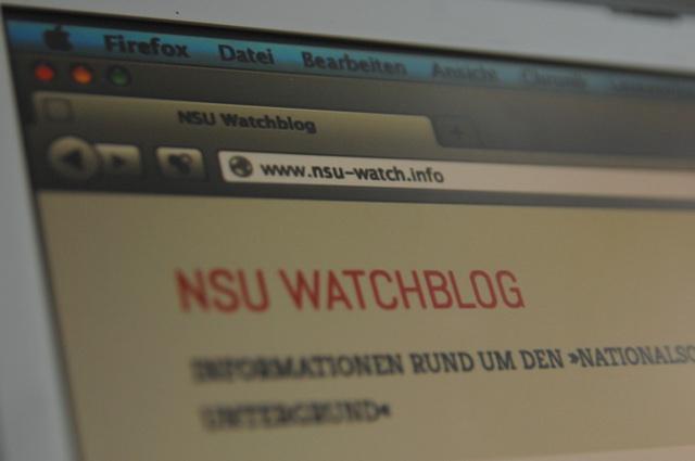Der Blog von NSU-Watch. Foto: a.i.d.a.