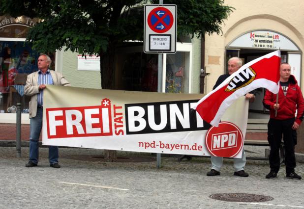 'Frei statt bunt'. Foto: Tim Karlson