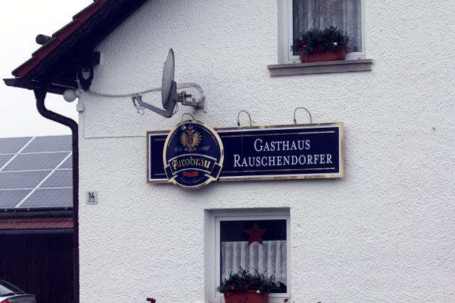 Das Gasthaus Rauschendorfer in Breitenhausen. Foto: Mathias Roth