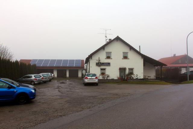 Das Gasthaus Rauschendorfer am Veranstaltungstag.  Foto: Mathias Roth