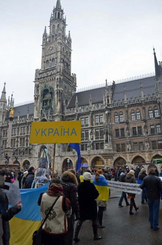 Demonstrationszug am Sonntag durch die Innenstadt.  Foto: a.i.d.a.