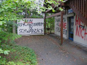 Neonazistische Parolen in Schwarzach, August 2012. Foto: a.i.d.a.