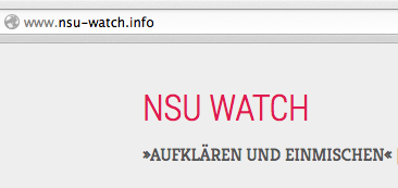 Homepage NSU-watch