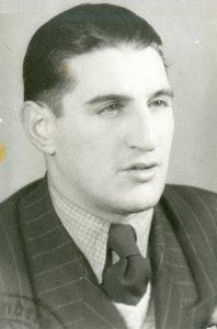 Hans Frankenthal 1946. Bild: www.stiftung-auschwitz-komitee.de
