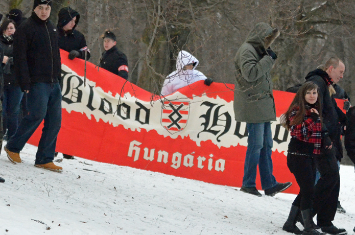 Blood & Honour Hungaria. Foto: LS