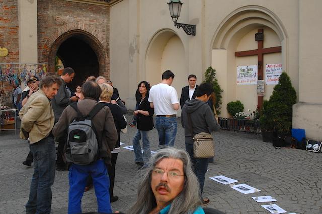 Auf der Versammlung am Sendlinger Tor Platz. Foto: Robert Andreasch