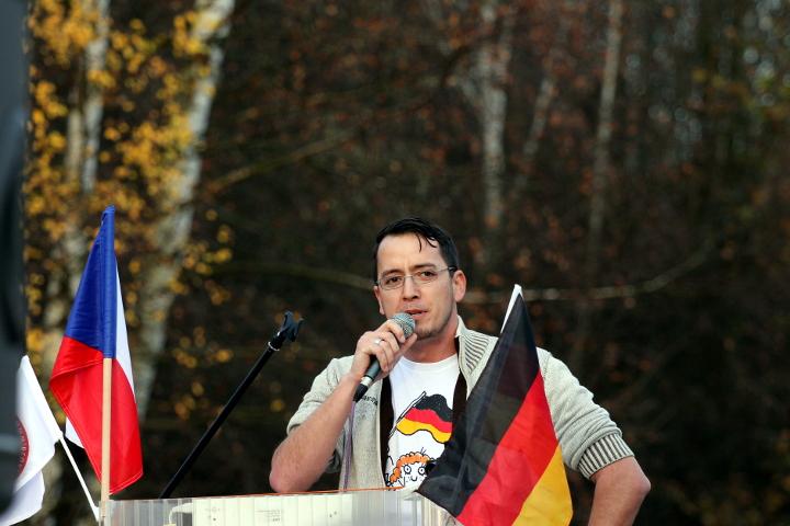 Redner Ignaz Bearth.  Foto: Jan Nowak