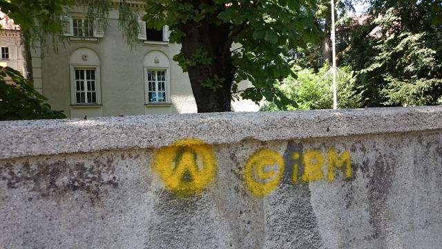 Die Sachbeschädigungen in der Ungererstraße.  Foto: Robert Andreasch