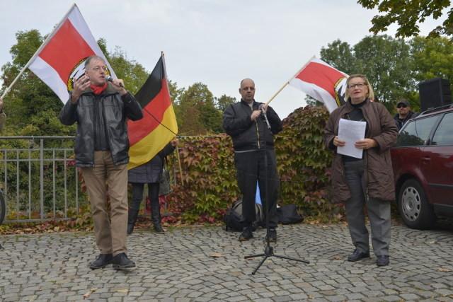 Kalr Richter (l.), Björn-Christopher Balbin (m.) und Renate Werlberger (r.).  Foto: Benny Neudorff