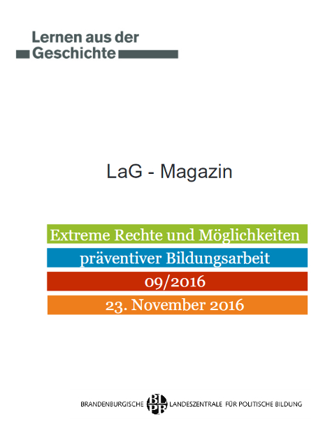 Titel 'Lernen aus der Geschichte' 9/2016